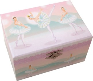 Swan Lake Ballerina's Music Box
