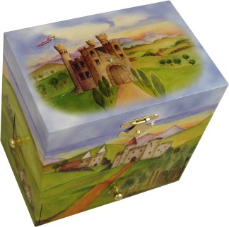 Prince & Princess Musical Jewellery Boxes