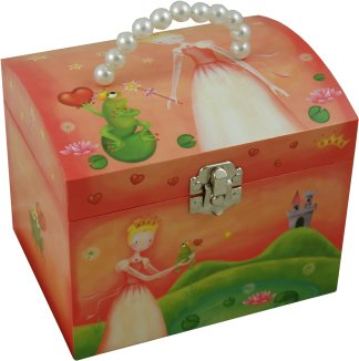 Princess & The Frog Music Boxes