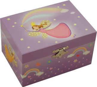 Somewhere Over The Rainbow Fairy Music Box