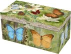 Butterflies Musical Jewellery Boxes
