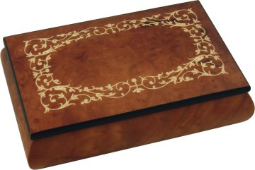 Inlaid Wooden Jewellery Boxes