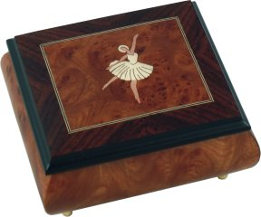 Ballerina Musical Ring Box