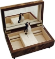 Dancing Couple Musical Jewellery Boxes