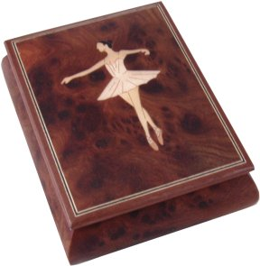 Ballerina Musical Jewellery Box