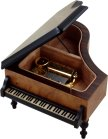Grand Piano Musical Jewellery Box