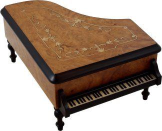 Piano Musical Jewellery Box