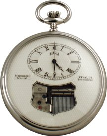 Swiss Musical Pocket Watch
