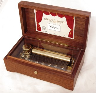 Vintage Reuge Music Box